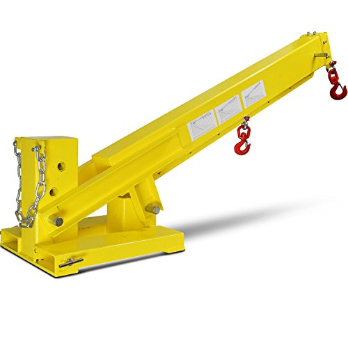 Titan-Forklift-Adjustable-Mobile-Crane-Lifting-Hoist-Truss-Jib-Boom-Hook-6000lb-0