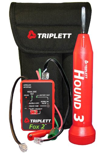 Triplett-Fox-Hound-3399-Premium-Wire-and-Cable-Tracing-Kit-with-Tone-Generator-and-Probe-with-Adjustable-Sensitivity-0