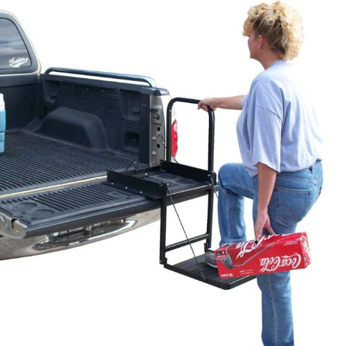 Truck-N-Buddy-Tailgate-Step-Black-0-0
