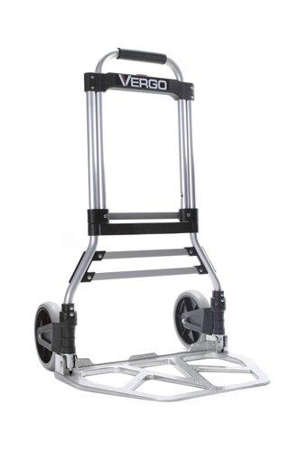 Vergo-S300BT-Model-Industrial-Folding-Hand-Truck-Dolly-275-lb-Capacity-Silver-0-0