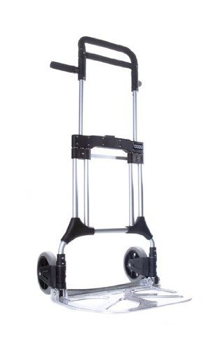 Vergo-S300L-Industrial-Heavy-Duty-Folding-Hand-Truck-Dolly-400-lb-Capacity-Silver-0-0