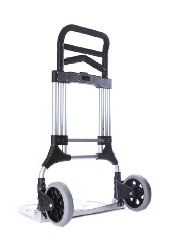 Vergo-S300L-Industrial-Heavy-Duty-Folding-Hand-Truck-Dolly-400-lb-Capacity-Silver-0-1