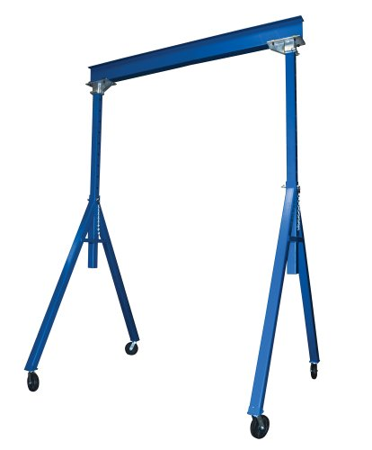 Vestil-AHS-6-10-14-Steel-Adjustable-Height-Gantry-Crane-6000-lbs-Capacity-10-Length-x-8-Height-Beam-103-169-Usable-Height-0