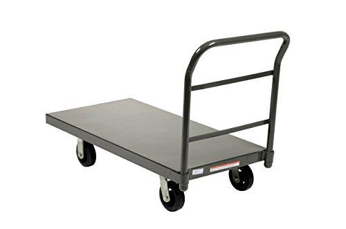 Vestil-ECSPT-2448-Steel-Platform-Truck-6-x-2-Rubber-Caster-2000-lbs-Capacity-48-Length-x-24-Width-x-11-78-Height-Deck-0-1