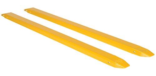 Vestil-FE-4-84-Steel-Fork-Extensions-Accommodates-4-Fork-Width-84-Length-2-Thickness-0