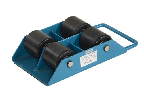 Vestil-FMS-3-Fixed-Machinery-Skate-with-4-Nylon-Roller-Steel-13-Rubber-Surface-Length-8-58-Width-4-Height-3-Ton-Capacity-0-1