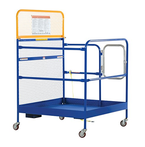 Vestil-WP-3636-CA-Steel-Work-Platform-1000-lb-Capacity-36-x-36-with-Casters-Powder-Coat-Blue-0