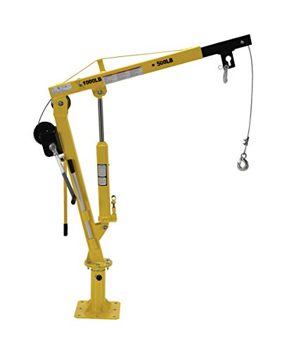 Vestil-WTJ-2-Winch-Operated-Truck-Jib-Crane-Welded-Steel-1000-lbs-Retracted-Capacity-56-Overall-Height-Yellow-0-1