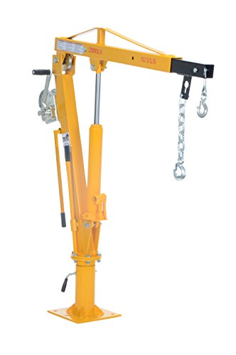 Vestil-WTJ-4-Painted-Steel-Winch-Truck-Jib-Crane-1000-lb-Extended-Capacity-Extended-Usable-Reach-46-Extended-Maximum-Hook-Height-77-12-Yellow-0