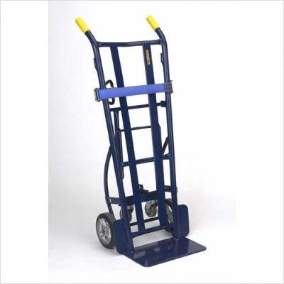 Wesco-210062-Heavy-Duty-Steel-Warehouse-4-Wheel-Hand-Truck-Moldon-Rubber-Wheels-1000-lb-Load-Capacity-20-12-Width-x-37-14-Height-x-22-Depth-0-0