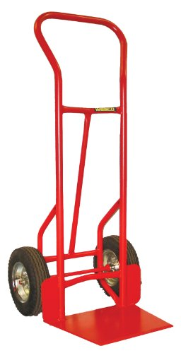 Wesco-210066-Heavy-Duty-Steel-Shovel-Nose-Hand-Truck-Pneumatic-Wheels-800-lb-Load-Capacity-20-12-Width-x-53-Height-0