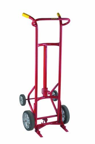 Wesco-240001-Deluxe-Series-Steel-Drum-Truck-Moldon-Rubber-Wheels-1000-lb-Load-Capacity-24-Width-x-58-Height-x-21-Depth-0
