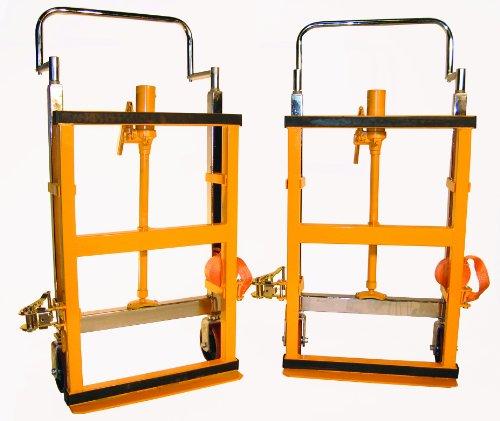 Wesco-272952-Hydraulic-Lift-Furniture-Mover-Set-Polyurethane-Wheels-3950-lb-Load-Capacity-10-Lift-Height-265-x-16-x-42-0