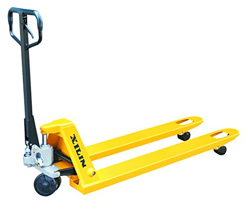 Xilin-BF-II-Industrial-Manual-Pallet-Truck-Jack-5500LBS-Capacity-27-X-48-Fork-Size-0