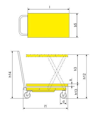 Xilin-SP800-Hydraulic-Scissor-Lift-Table-1760LBS-Capacity-40-MaxLift-Height-0-1