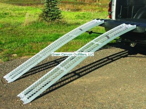 Yutrax-TX105-Silver-89-Aluminum-Arch-Ramp-0