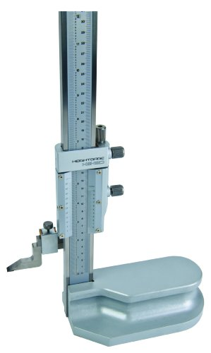 Mitutoyo 514-107 Vernier Height Gauge, 0-24″ Range, 0.001″ Resolution, +/-0.002″ Accuracy, 7.4kg Mass