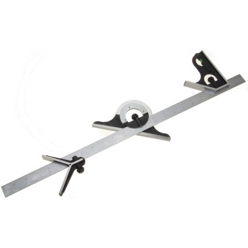iGaging-24-Inch-Professional-Combination-4-Piece-Square-Heavy-Duty-wStainless-Steel-4R-Rule-Blade-0