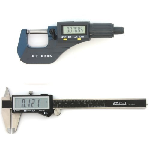 iGaging-Digital-Electronic-Micrometer-0-1000005-and-Caliper-0-600005-Set-Machinist-Inspection-Tool-Kit-0