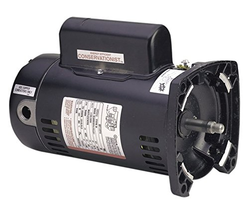 1 Hp 3450rpm 48y Frame 230 Volts Square Flange Pool Pump