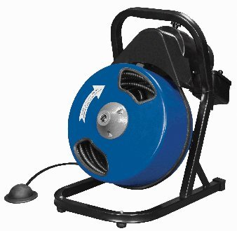 12-inch-by-50-feet-Compact-Electric-Drain-Cleaner-Drum-Auger-Snake-1-to-4-pipes-with-Built-in-GFCI-and-many-Accessories-0