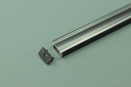 12 14mm In Width U Shape Aluminum Channel With Cover Led