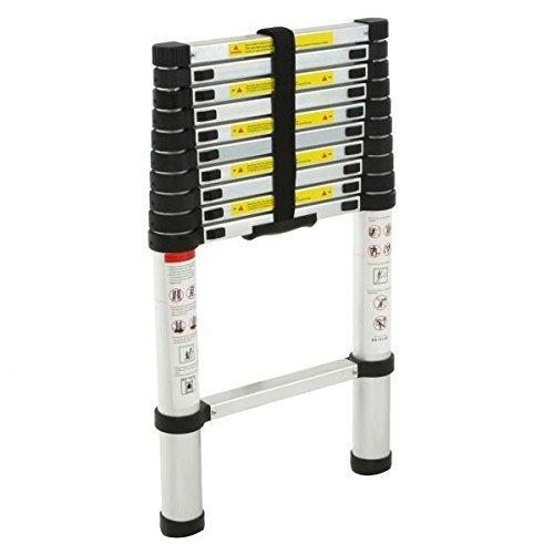 12 5 Aluminum Telescopic Telescoping Loft Ladder