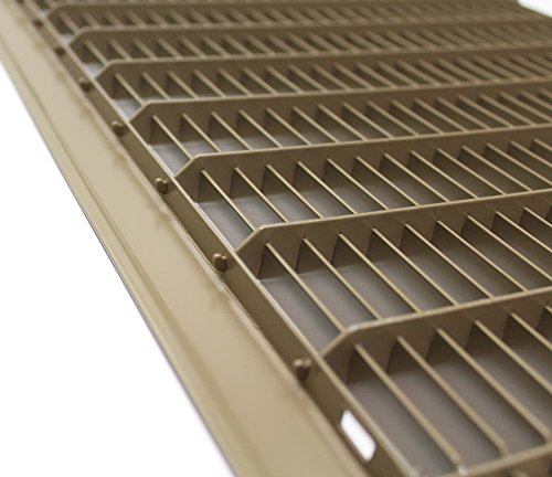 16-x-30-Heavy-Duty-Floor-Grille-Fixed-Blades-Brown-0-0