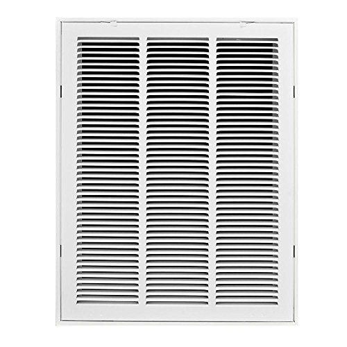 Hvac Return Air Grill : ″ steel return air filter grilles fixed hinged