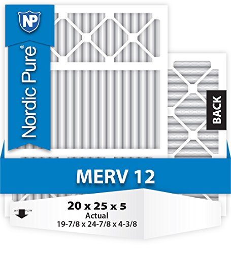 20x25x5-Honeywell-Replacement-MERV-12-Furnace-Air-Filter-Qty-4-0