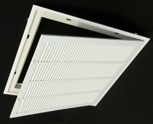 24 X 24 Return Filter Grille For Drop Ceiling Easy
