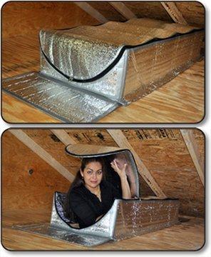 25 X 54 X 9 Attic Insulation Tent Kit Cover Smartattic
