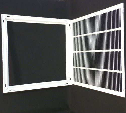 25-x-25-RETURN-FILTER-GRILLE-Easy-Air-FLow-Flat-Stamped-Face-0-1