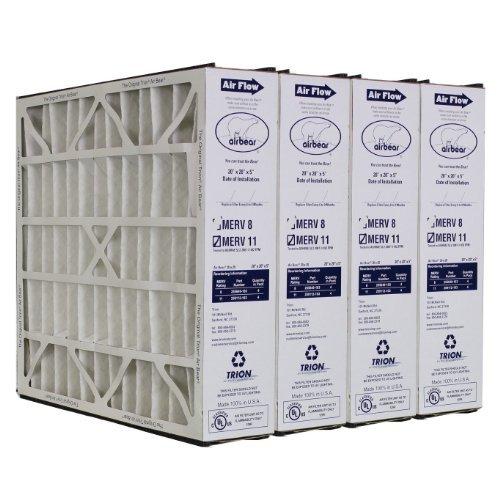 259112-103-Trion-Air-Bear-Supreme-20x20x5-Media-Filter-MERV-11-Rated-4-Pack-0