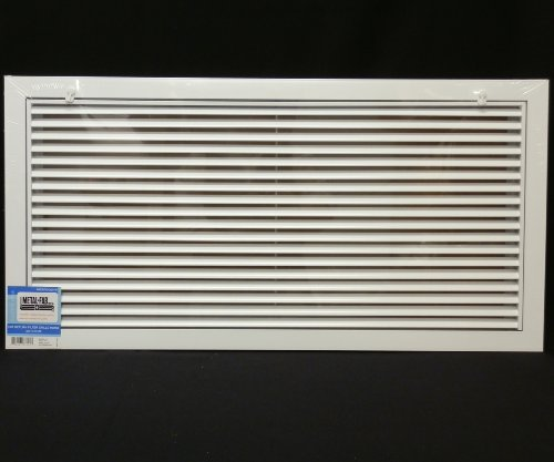 30 X 20 Aluminum Return Filter Grille Easy Air Flow