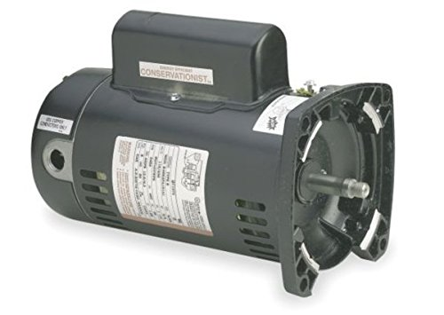 34-hp-3450rpm-48Y-Frame-115-volts-2-Speed-Square-Flange-Pool-Pump-Replacement-Motor-AO-Smith-Electr-0