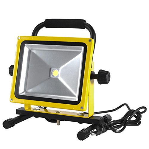 38 watt 3000 lumen led portable work floodlight alert stamping lf38 online tools supply store. Black Bedroom Furniture Sets. Home Design Ideas