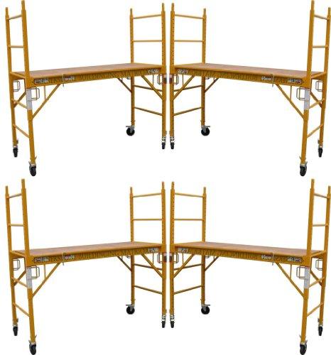 4-Set-of-6-feet-Multi-Purpose-Scaffold-Rolling-Tower-Baker-Style-Scaffold-with-U-Lock-0