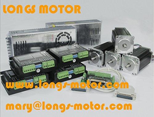 4-axis-Nema-23-stepper-motor-425-ozin-Driver-DM542A-peak-42A-CNC-kit-0