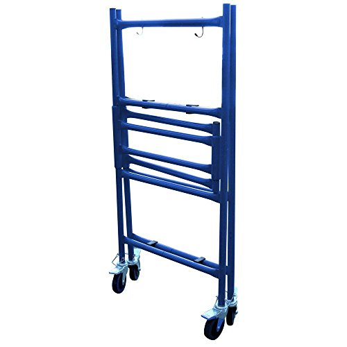 4-ft-Mini-Foldable-Scaffold-Mobile-Workbench-Storage-Cart-0-0