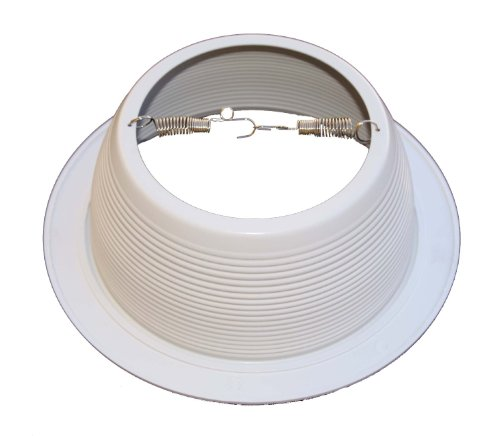 6-Inch-White-Baffle-Recessed-Can-Light-Trim-Replaces-HALO-310-W-JUNO-24W-WH-48-PACK-0-0