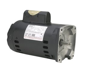 AO-Smith-B2853-1-HP-3450-RPM-1-Speed-230115-Volts-66132-Amps-125-Service-Factor-56Y-Frame-PSC-ODP-Enclosure-Square-Flange-Pool-Motor-0