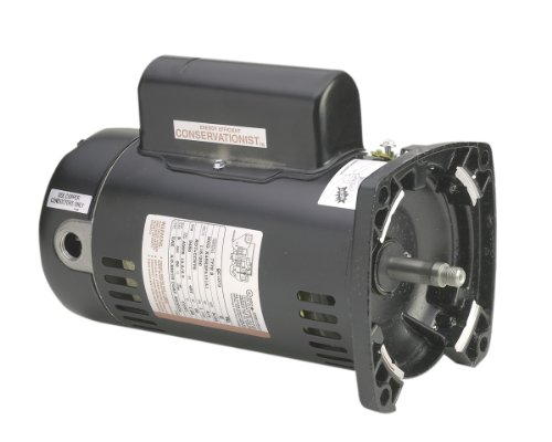 AO-Smith-SQ1152-1-12-HP-147-Service-Factor-48Y-Frame-Capacitor-StartCapacitor-Run-ODP-Enclosure-Square-Flange-Pool-Motor-0
