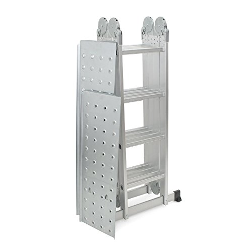 6ft Multi Purpose Step Ladders : Arksen ft platform multi purpose folding fold