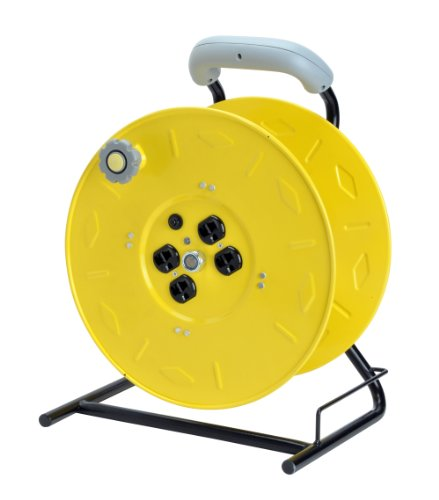 Alert-Stamping-7100HD-Heavy-Duty-Manual-Cord-Storage-Reel-with-4-Grounded-Outlets-0