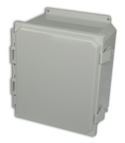 Allied-Moulded-AMP1206NLF-Polyline-Series-Polycarbonate-JIC-Size-Junction-Box-Light-Gray-0