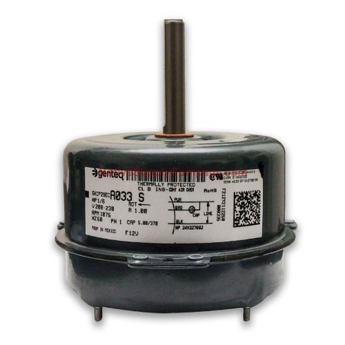 Amana oem replacement for b13400 252 1 6 hp 208 230 volt for Hvac fan motor replacement