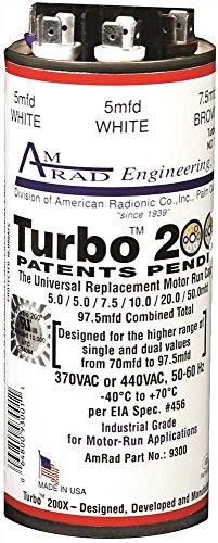 Amrad-Turbo-200X-Universal-Motor-Run-Capacitor-975-Mfd-0