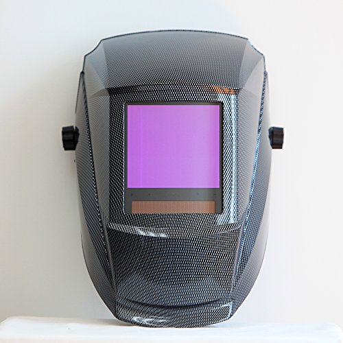 Antra-AH7-860-001X-Solar-Power-Auto-Darkening-Welding-Helmet-AntFi-X60-8-Jumbo-Viewing-Size-378X35-Variable-Shade-45-99-13-with-Grinding-Feature-Extra-lens-cover-Good-for-Arc-Tig-Mig-Plasma-CSA-ANSI-C-0-1