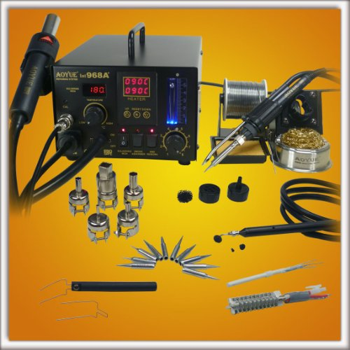 Aoyue-968A-SMD-Digital-Hot-Air-Rework-Station-0
